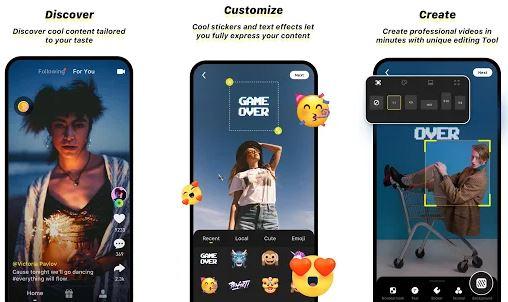 Capture d'écran Zynn Android