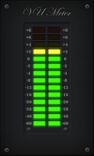 Capture d'écran LED VU Meter