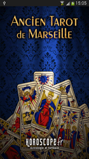 Capture d'écran Tarot de Marseille