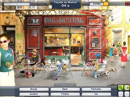 Capture d'écran Plus Belle la Vie : le jeu d'objets cachés