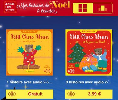 Capture d'écran Mes histoires de Noël à lire et à écouter iOS