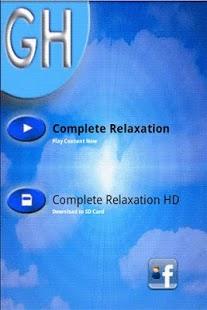 Capture d'écran Complete Relaxation-G. Harrold
