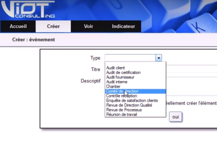 Capture d'écran AppQual