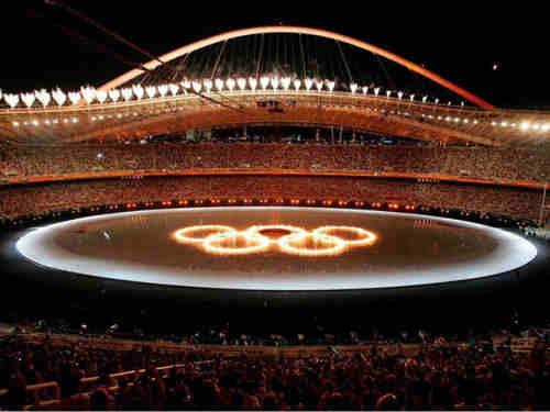 Capture d'écran Great Olympic Screensaver
