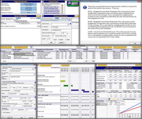 Capture d'écran Planification et gestion de projet