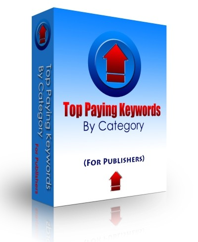 Capture d'écran Top Paying Keywords (by category)