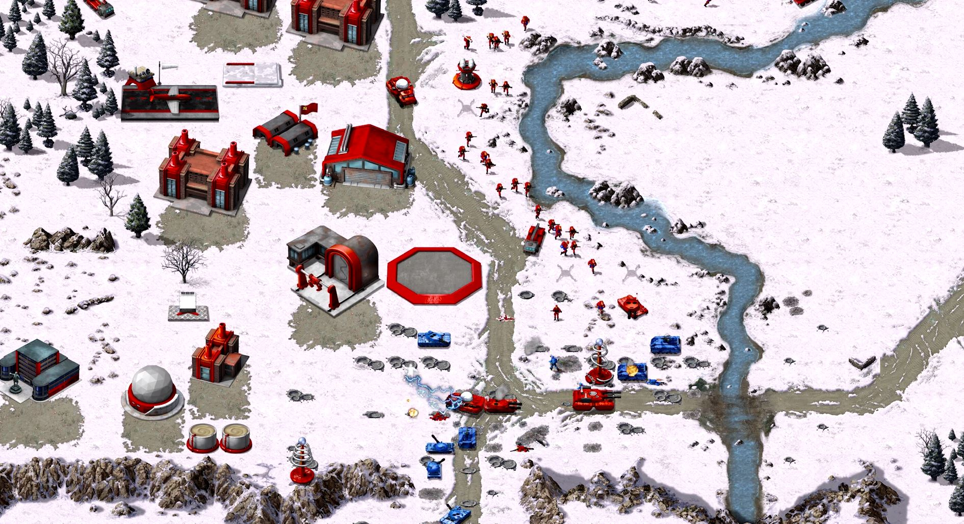 Capture d'écran Command and Conquer Remastered