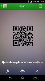 Capture d'écran QR Droid Code Scanner
