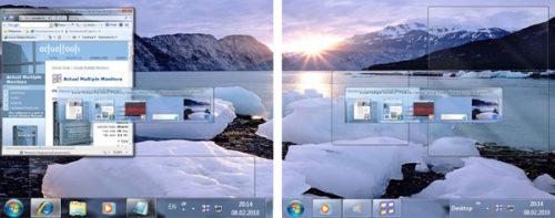 Capture d'écran Actual Multiple Monitors