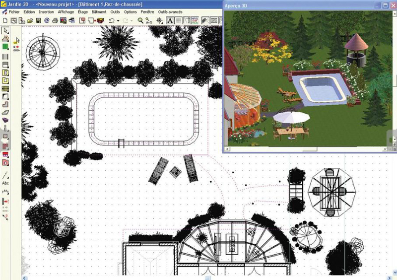 Capture d'écran 3D Jardin & Paysagisme
