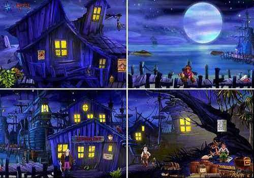 Capture d'écran The Docks Of Monkey Island
