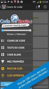Capture d'écran Code de la route 2014