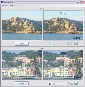 Capture d'écran Webcamfirst