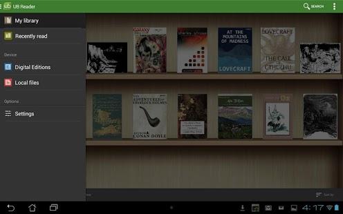 Capture d'écran Universal Book Reader Full Key