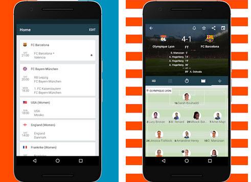 Capture d'écran Forza Football Android