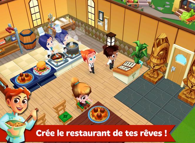 Capture d'écran Restaurant Story 2 iOS