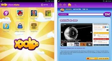 Capture d'écran App Kids Android