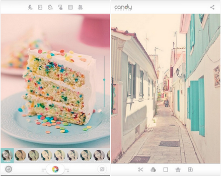 Capture d'écran Candy Camera Android