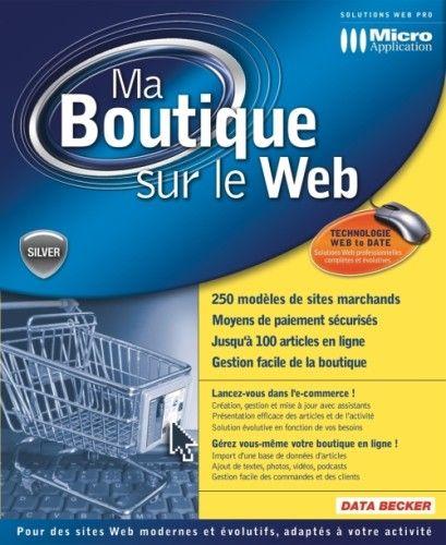 Capture d'écran Ma Boutique sur le Web