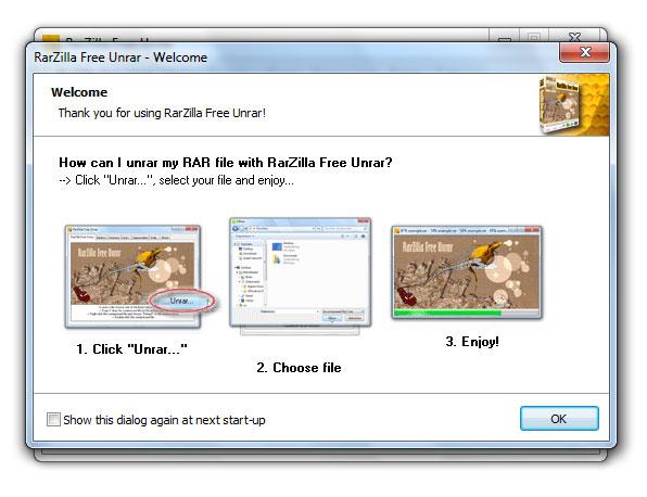 Capture d'écran RarZilla Free Unrar