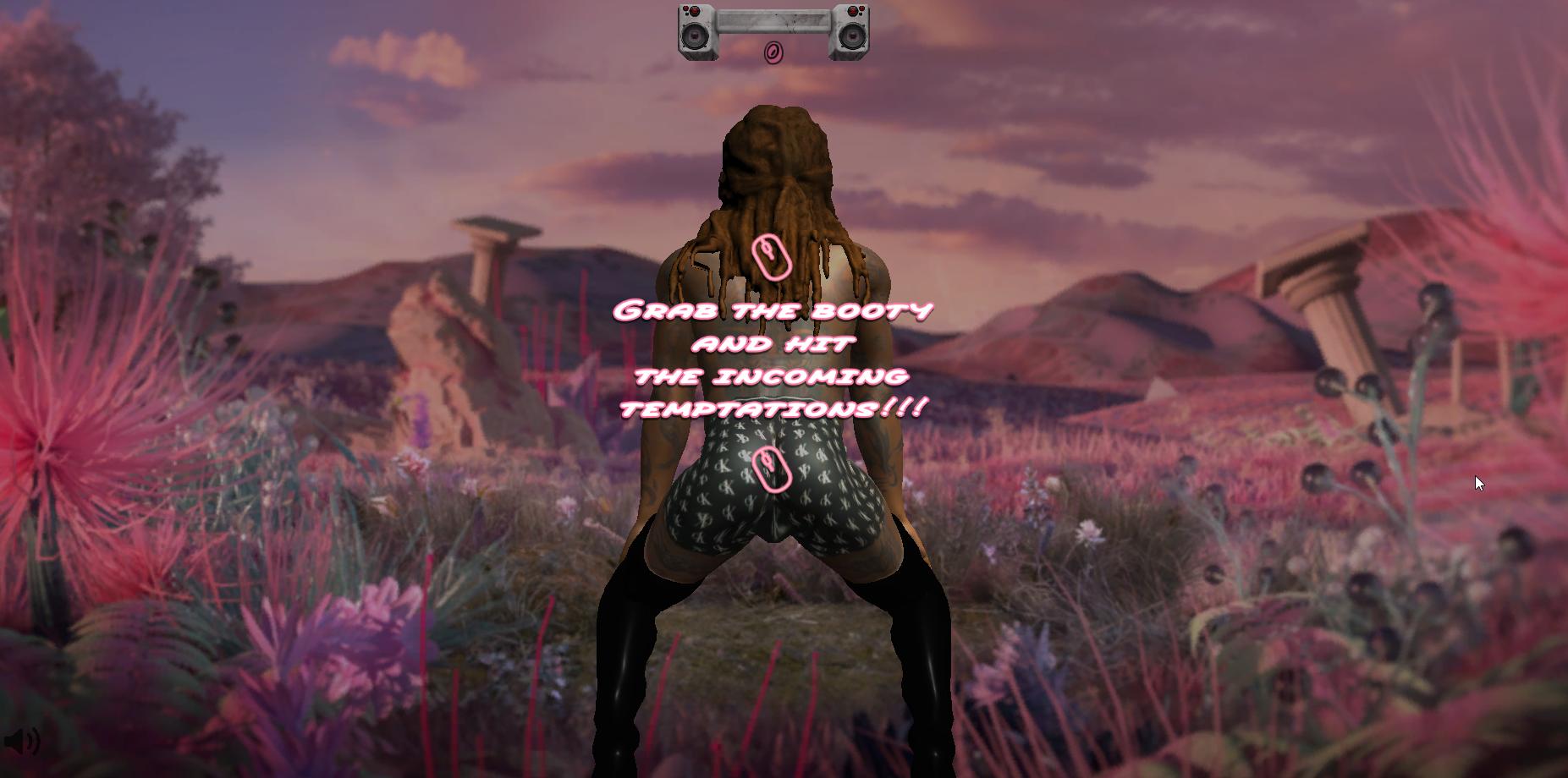 Capture d'écran Twerk Hero