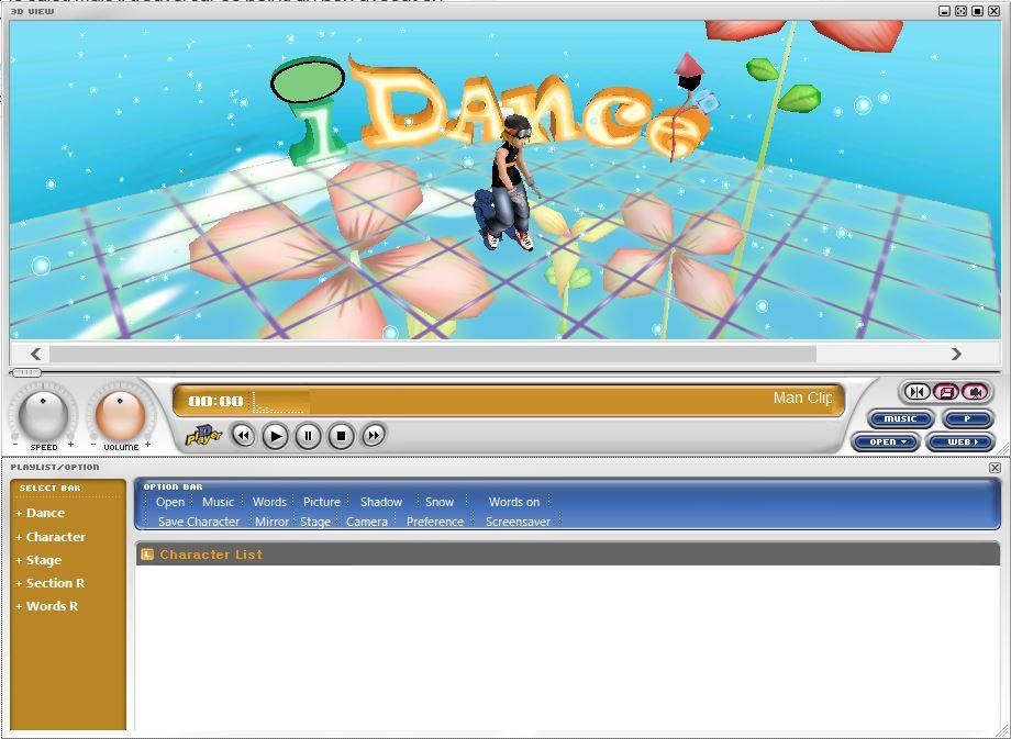 Capture d'écran D-Player