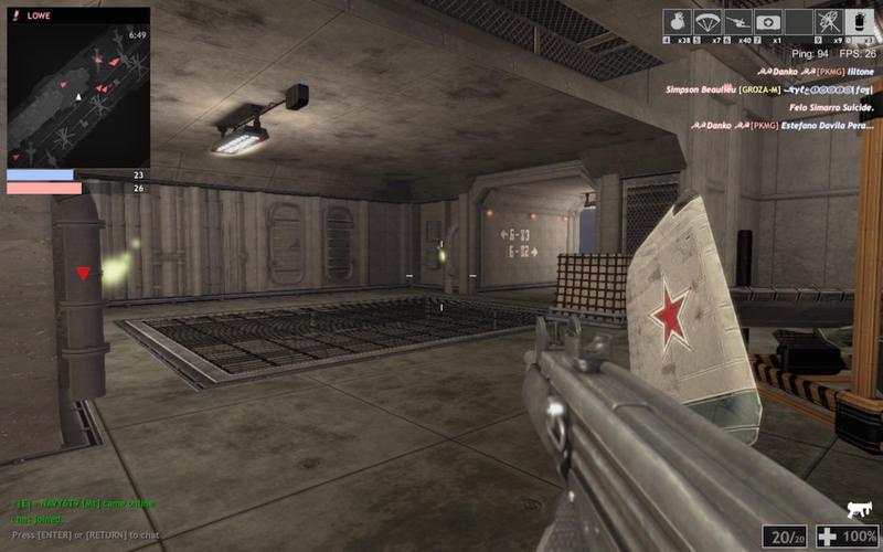 Capture d'écran Red Crucible : Firestorm