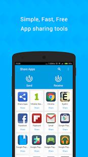 Capture d'écran ShareCloud (Share Apps)