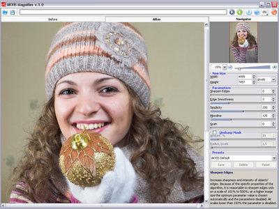 Capture d'écran AKVIS Magnifier
