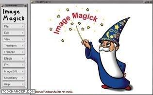 Capture d'écran ImageMagick Mac