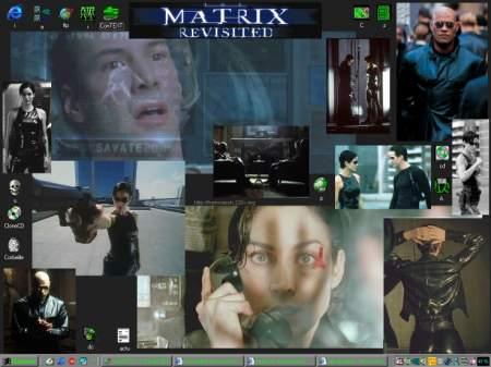 Capture d'écran Wall paper Matrix by Freewaooh