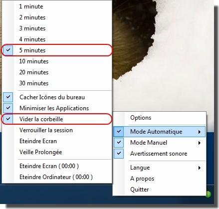 Capture d'écran ZapIcones