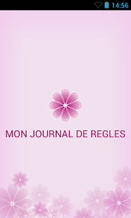 Capture d'écran MON JOURNAL DE REGLES