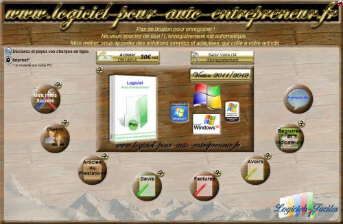 Capture d'écran Auto Entrepreneur