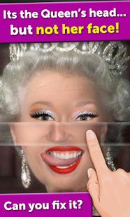 Capture d'écran Celebrity Face Mania