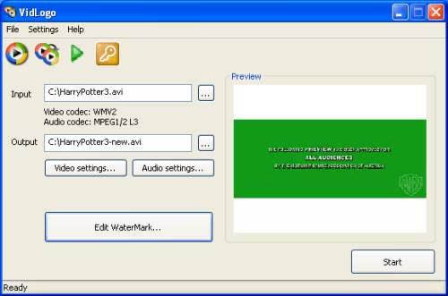 Capture d'écran VidLogo