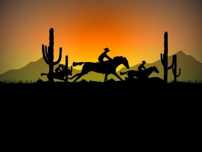 Capture d'écran Cowboy Ride Screensaver