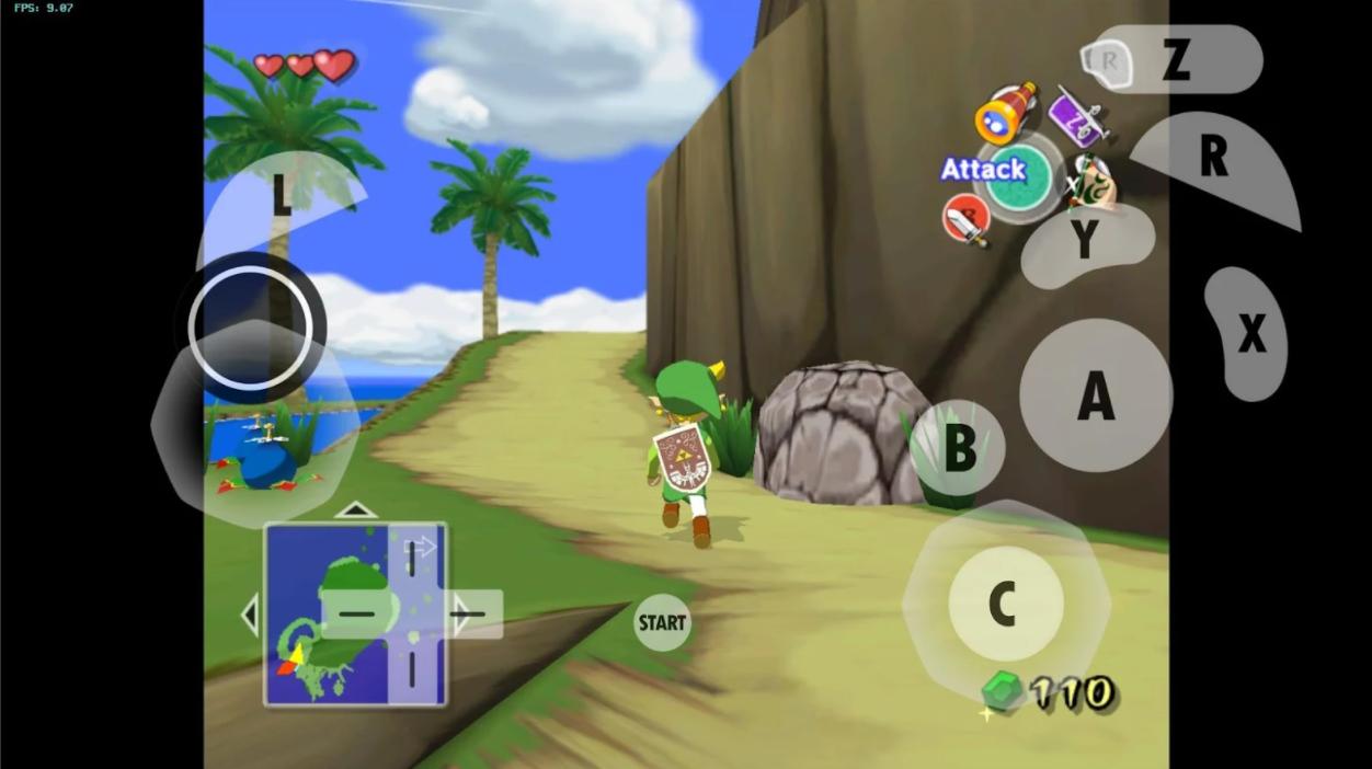 Capture d'écran Dolphin Emulator Android
