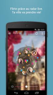 Capture d'écran LOVOO Chat, Flirte, Rencontre