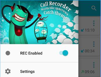 Capture d'écran Enregistreur de conversations Android