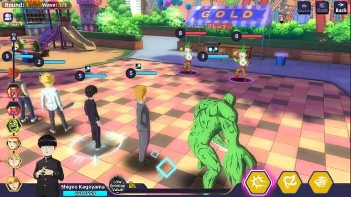Capture d'écran Mob Psycho 100 : Psychic Battle iOS
