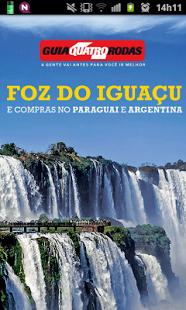 Capture d'écran Foz do Iguaçu Travel Guide