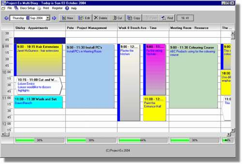 Capture d'écran Project-Eo Multi Diary – Day Edition