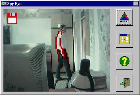 Capture d'écran Spy Eye