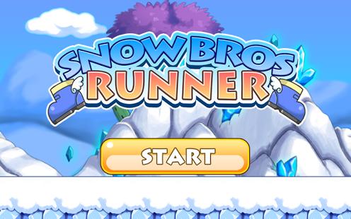 Capture d'écran Snow Bros Runner