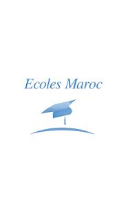 Capture d'écran Ecoles Maroc