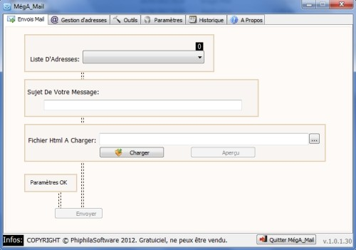 Capture d'écran MégA_Mail