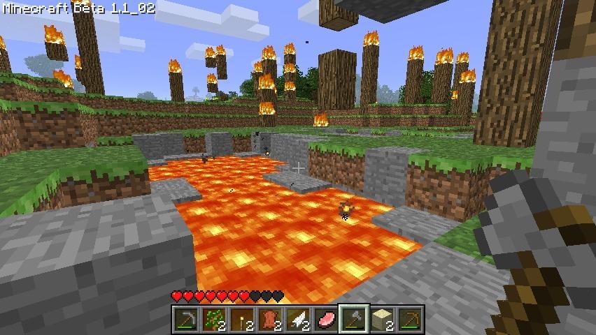 Capture d'écran Minecraft