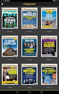 Capture d'écran L'Expansion – Magazine