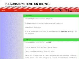 Capture d'écran CalMulTek